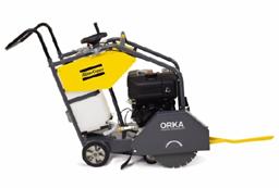 Asfalto-betono pjūklas su vežimėliu, benzinas, d=350/450mm