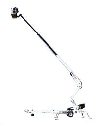 Korviga teleskooptõstuk, järelveetav (220V), 21m DINO