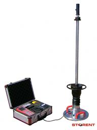 Dinaminės plokštės apkrovos tikrinimo prietaisas HMP LFG4 su spausdintuvu ir transportavimo dėže