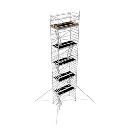 Instant Uprigh bred ställning 1.30m x 2.5m, H=10.0m (plattform)