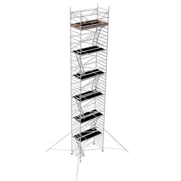 Instant Uprigh bred ställning 1.30m x 2.5m, H=12.0m (plattform)