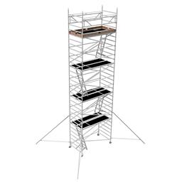 Instant Uprigh bred ställning 1.30m x 2.5m, H=8.0m (plattform)