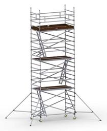 Instant Uprigh bred ställning 1.30m x 2.5m, H=9.0m (plattform)