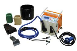 Plastikinių vamzdžių suvirinimo aparatas, d=20-315 mm, 220V