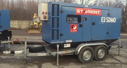 Generaator diiselr, poolhaagis, 100kW