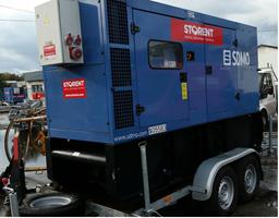 Dyzelinis generatorius, priekaba, 160kW, 24h