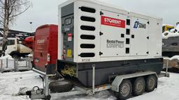 Dyzelinis generatorius, priekaba,  200kW, 24h