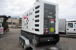 Dyzelinis generatorius, priekaba, 240kW, 24h