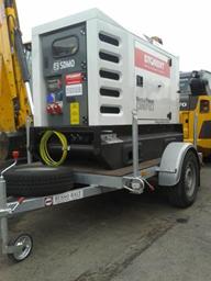 Generaator, diisel, poolhaagis 32kW