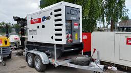 Generaator, diisel, poolhaagis 64kW, 24h