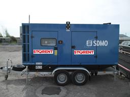 Dyzelinis generatorius, priekaba, 200kW
