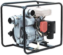 Purvo siurblys 1300l/min, benzinas, DN75mm/gofra-DN75mm