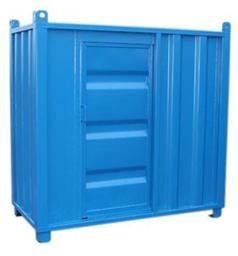 Valvcontainer L: 2010mm B: 970mm H: 1910mm Dörr: B:680mm H: 1570mm