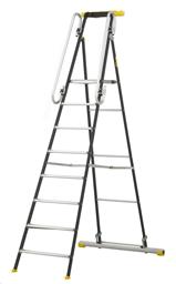 Stegar - Arbetsplattform, h-1,97m, (total h-2,73m)