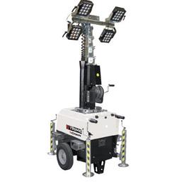 Apšvietimo įranga, 4 X 150W LED , 7m