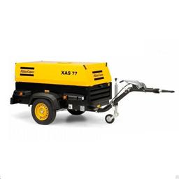 Diesel kompressor 4,3m3/min, 7bar.