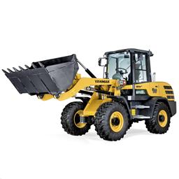 Hjullastare 4900kg, Tipplast 3330kg inkl. Standardskopa & gafflar